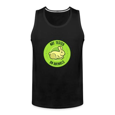 Tank top Not tested on animals