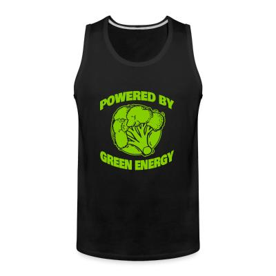 Tank top Powered by green energy