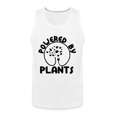 Tank top Powered by plants