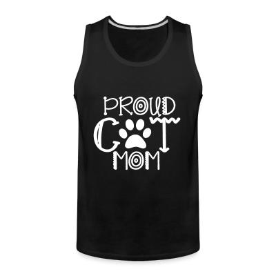 Tank top Proud cat mom