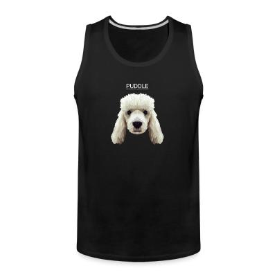 Tank top puddle