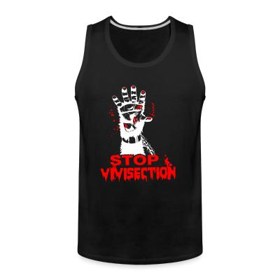 Tank top Stop vivisection