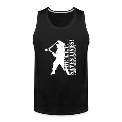 Tank top The A.I.F. saves lives! Animal Libeation Front