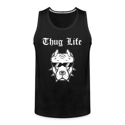 Tank top Thug life pitbull