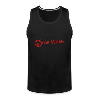 Tank top V for Vegan