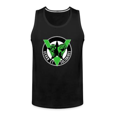Tank top Vegan et solidaires