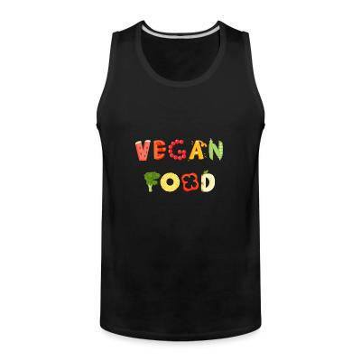 Tank top Vegan food