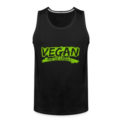 Tank top Vegan for the animals