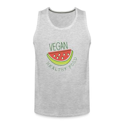 Tank top Vegan healthy food