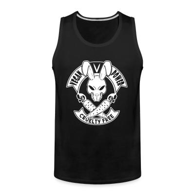 Tank top Vegan power! Cruelty free