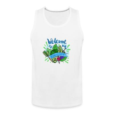 Tank top Welcome to my vegan Kitchen