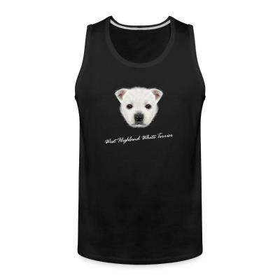 Tank top West Highland White Terrier