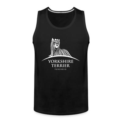 Tank top Yorkshire Terrier purebred