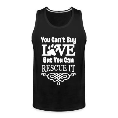 Tank top you can't love but can rescue it