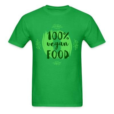 T-shirt 100% Vegan food