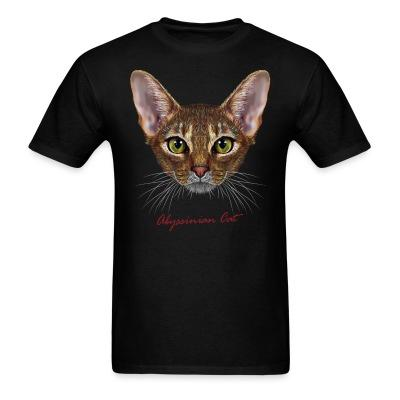 T-shirt Abyssinian cat