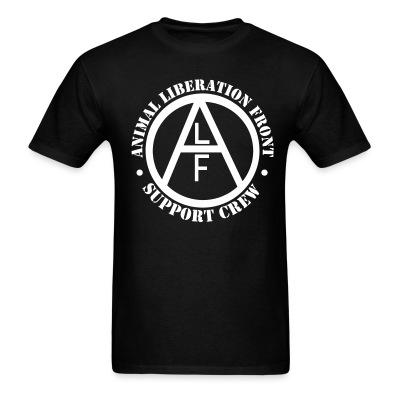 T-shirt ALF Animal Liberation Front support crew