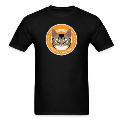 T-shirt American Wirehair Cat