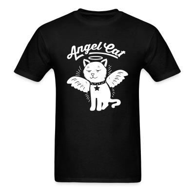 T-shirt angel cat