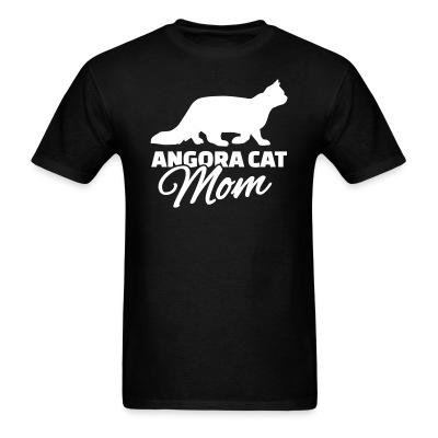 T-shirt Angora cat mom