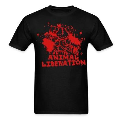 T-shirt Animal liberation