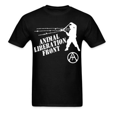 T-shirt Animal Liberation Front - ALF