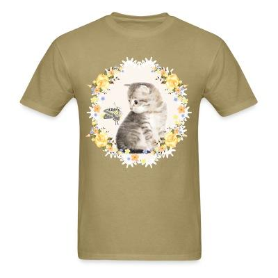 T-shirt Awesome kitten