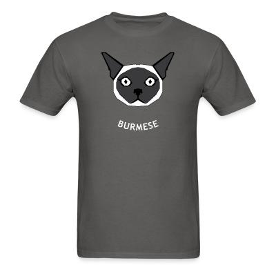 T-shirt Burmese Cat
