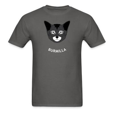 T-shirt Burmilla Cat