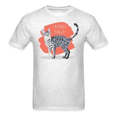 T-shirt California Spangled Cat