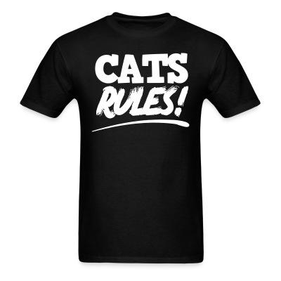 Cats Lovers T-shirt