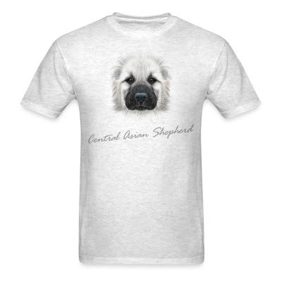 T-shirt Central Asian Shepherd Dog