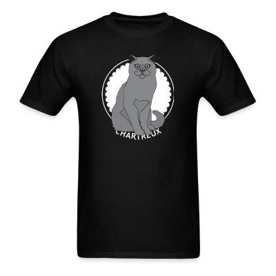 T-shirt Chartreux Cat