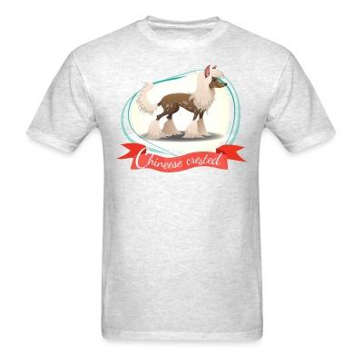 T-shirt Chinese Crested