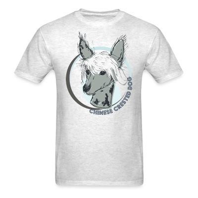 T-shirt Chinese Crested Dog
