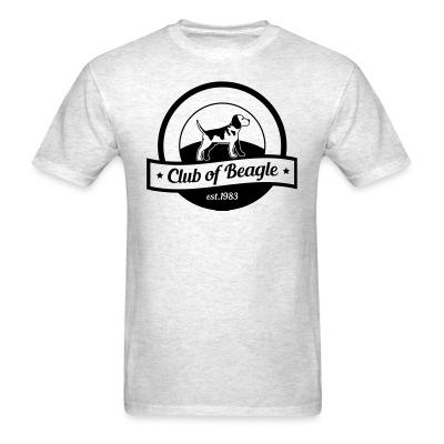 T-shirt clun of beagle