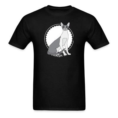 T-shirt Cornish Rex Cat