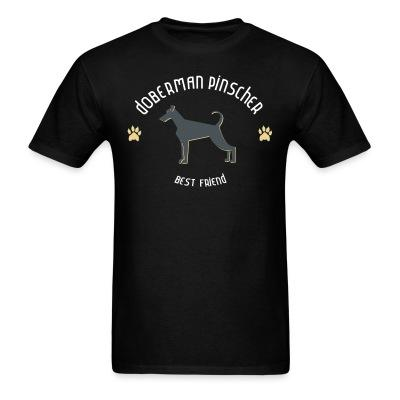 Doberman Pinscher best friend