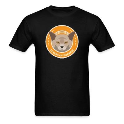 T-shirt European burmese