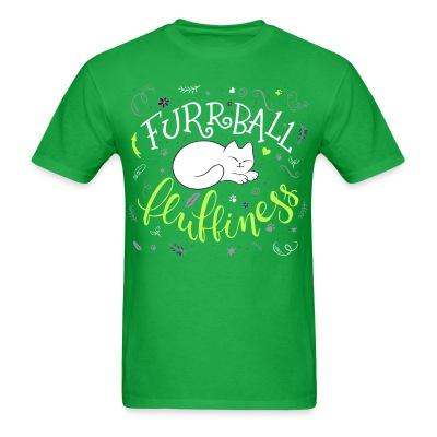 T-shirt furrball