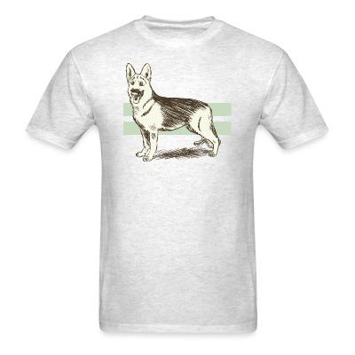 T-shirt German Shepherd Dog