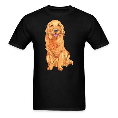 T-shirt Golden Retriever
