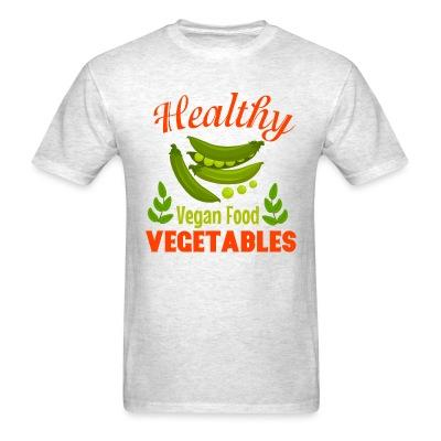 T-shirt Healthy vegetable vegan food