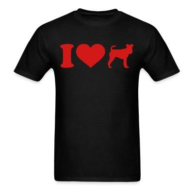 I love Fox Terrier