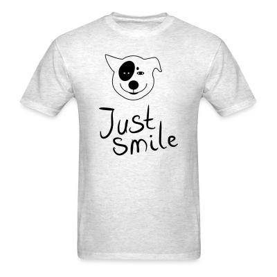 T-shirt Just smile