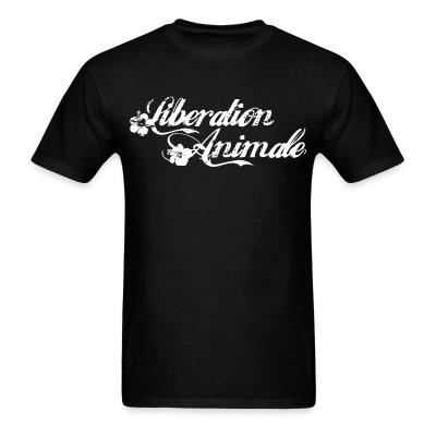 T-shirt Libération animale