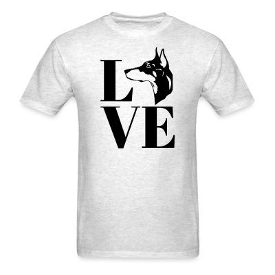 Love Doberman Pinscher
