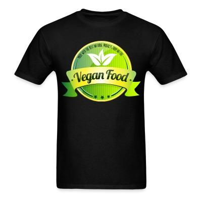 T-shirt Made with the best natural product from nature Vegan food