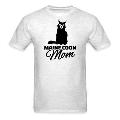 T-shirt Main coon mom