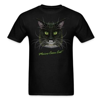 T-shirt Maine Coon Cat